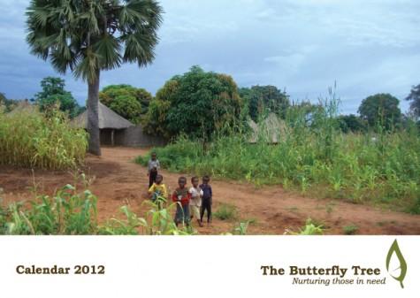 2012 Charity Calendar Front