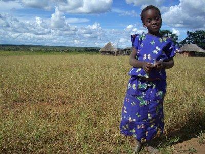 Zambian little girl