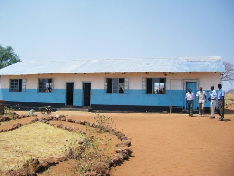 Ngandu classroom after restoration