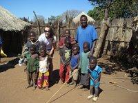 Volunteer in Mukuni