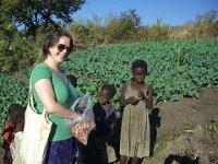 Mukuni volunteer