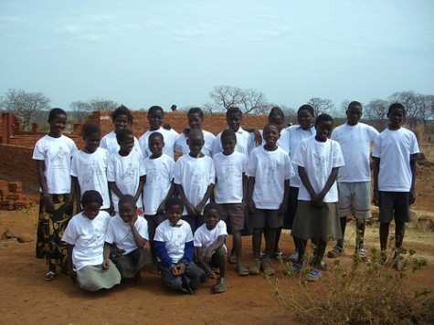 Orphans at Simasimbi Basic School