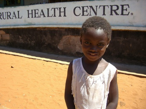 World AIDS Day - young Mukuni girl free of HIV