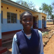 Peer Educator and orphan sponsored by The Butterfly Tree