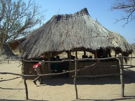 Old classroom at Silello, Zambia