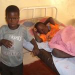 TWIN BOYS FROM CHIBALE CONTRACT MALARIA