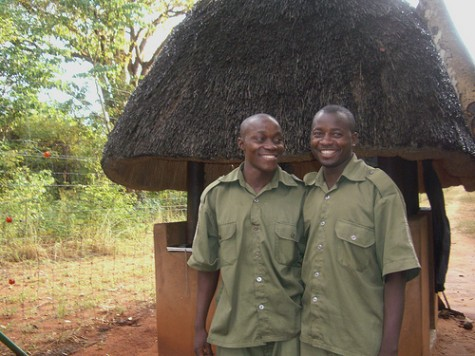 James and Victor were sponsored by The Butterfly Tree