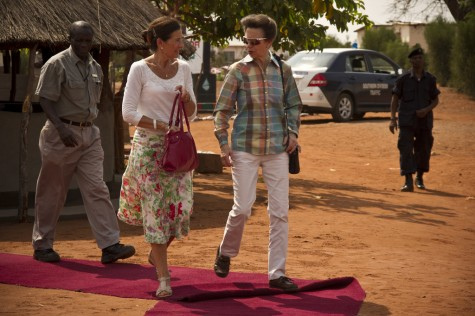 Princess Royal Visits Mukuni Village