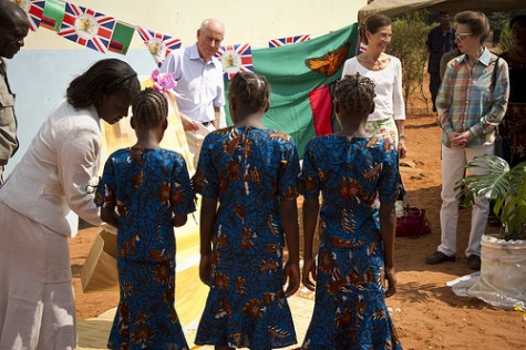 The Princess Royal visits Mukuni Village