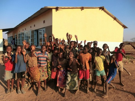 New school for Children in N'dele