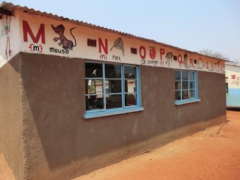 Classroom pre-school at Mukuni