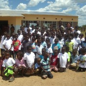 Wendy Charity Volunteer at Sponsored School in Zambia