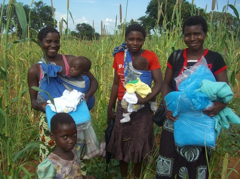 Distribution of Mosquito Nets in Zambia