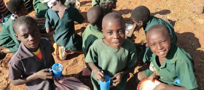 Feeding Program Mukuni