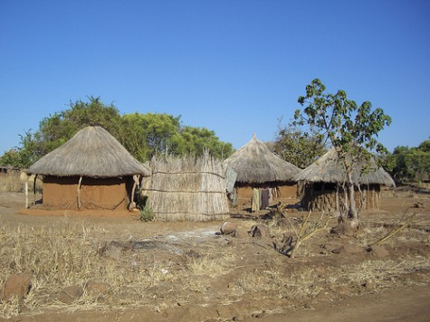 Mukuni Chiefdom Housing