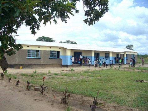 New School at Matengu, Zambia