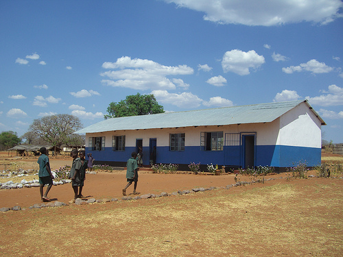 Restoration of N'gandu School