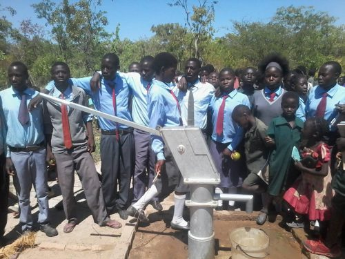Nguba bore hole