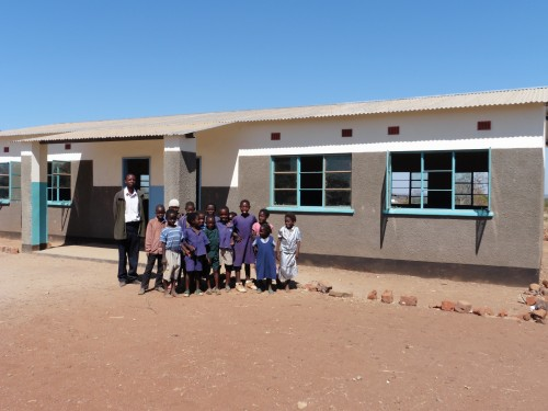 NEW CLASSROOM S FOR N'DELE PRIMARY SCHOOL
