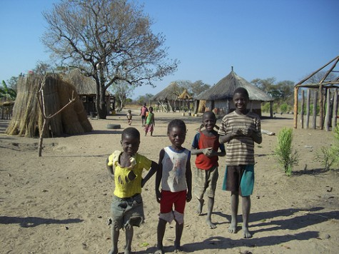 Rural children - Musokotwane Chiefdom