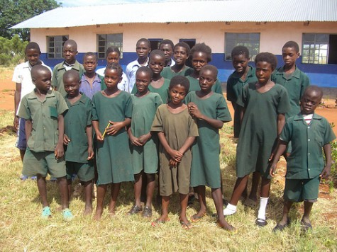 Sponsored Orphans in Ngandu Zambia