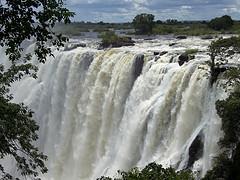 Victoria Falls after rains