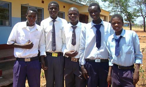 Sponsored orphans in Mukuni Village