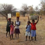 Collecting Drinking Water Zambia