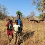 Zambia rural village